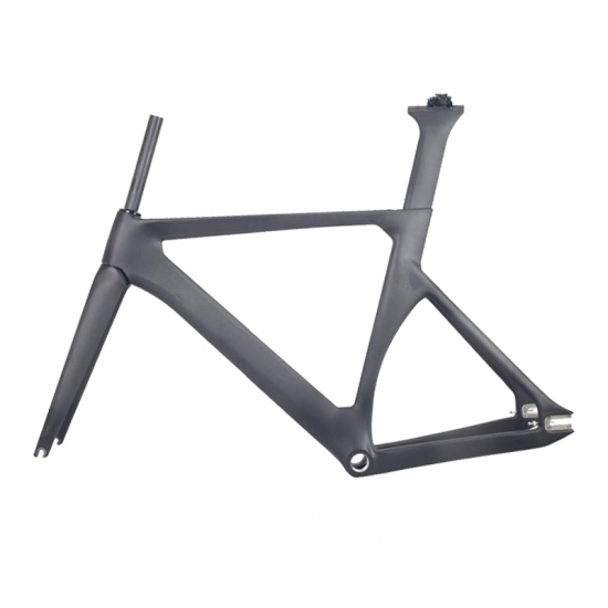 carbon track bike frame