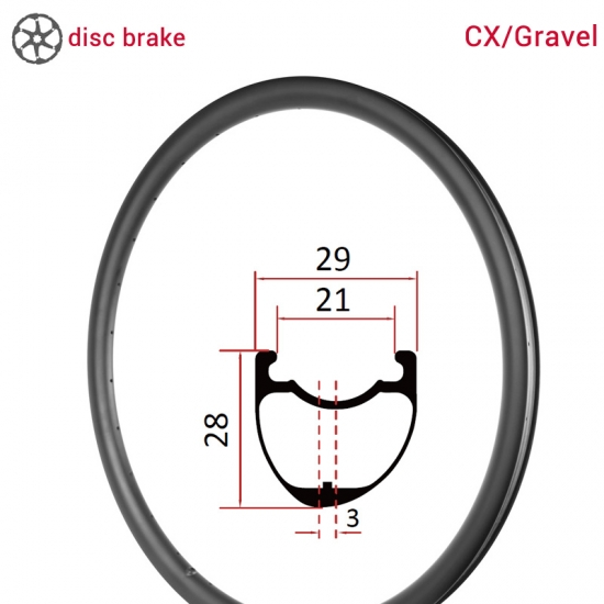gravel carbon rims